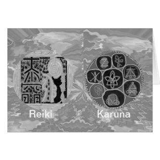 白黒版-霊気n Karuna カード