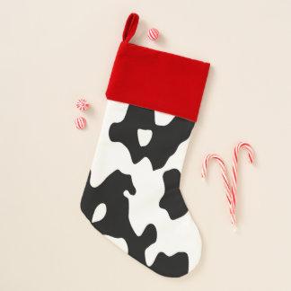 白黒牛パターン クリスマスストッキング