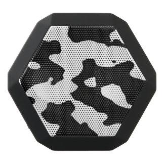 白黒牛パターン ブラックBluetoothスピーカー