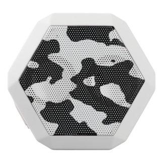 白黒牛パターン ホワイトBluetoothスピーカー