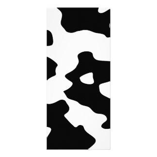 白黒牛パターン ラックカード