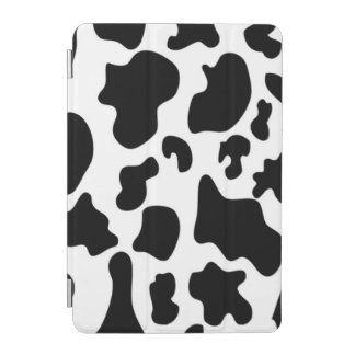 白黒牛プリント iPad MINIカバー