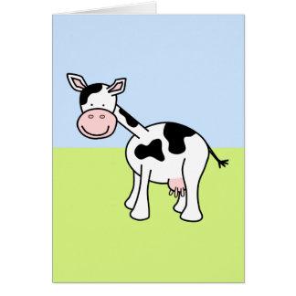 白黒牛漫画 カード