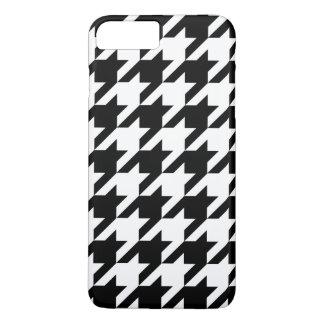 白黒猟犬歯のiPhone 7+ 場合 iPhone 8 Plus/7 Plusケース