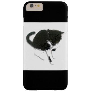 白黒猫の芸術 BARELY THERE iPhone 6 PLUS ケース