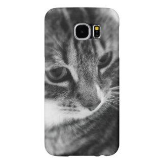 白黒猫 SAMSUNG GALAXY S6 ケース