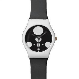 白黒球 腕時計