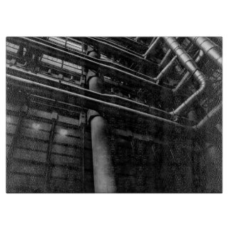 白黒産業管、建築 カッティングボード
