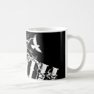 白黒真実Mug2 コーヒーマグカップ