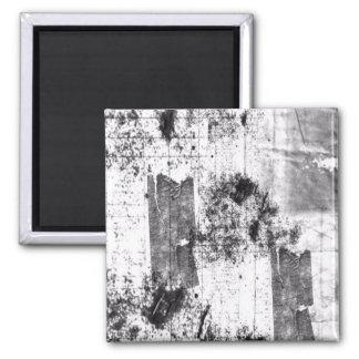 白黒磁石のフリースタイル マグネット
