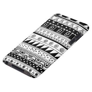 白黒種族パターン Case-Mate iPod TOUCH ケース