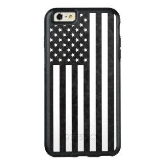 白黒米国旗のオッターボックスの擁護者 オッターボックスiPhone 6/6S PLUSケース