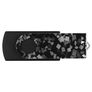 白黒紙吹雪 USBフラッシュドライブ