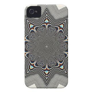 白黒素晴しい錯覚の箱 Case-Mate iPhone 4 ケース