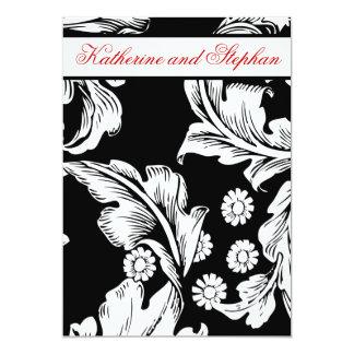 白黒結婚記念日 カード