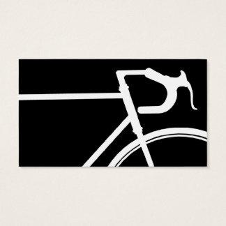 白黒自転車の名刺 名刺