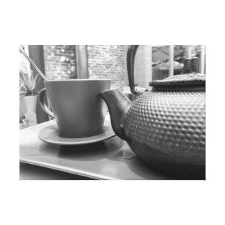 白黒茶 キャンバスプリント