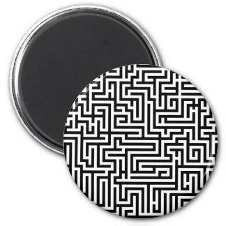 白黒迷路の当惑 マグネット