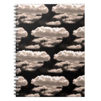 白黒雲 ノートブック
