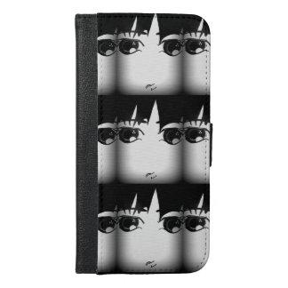白黒電話箱 iPhone 6/6S PLUS ウォレットケース