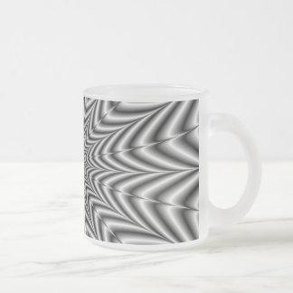 白黒   のマグによってすごい新星 フロストグラスマグカップ
