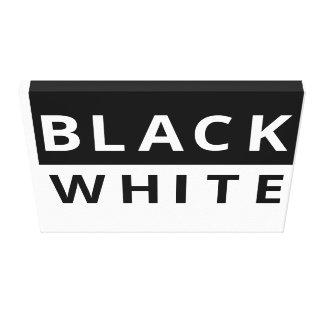 白黒 キャンバスプリント