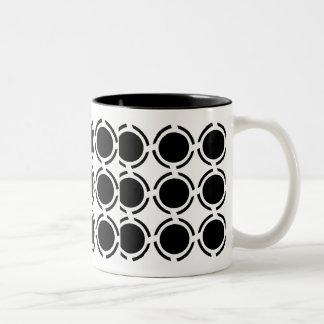 白黒 ツートーンマグカップ