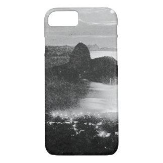 白黒-リオ-ブラジル iPhone 8/7ケース