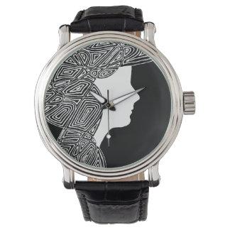 白黒 腕時計