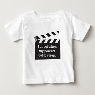 白黒Boardユーモアのあるなキャプションディレクター ベビーTシャツ