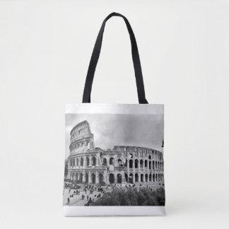 白黒Colosseumローマのトートバック トートバッグ