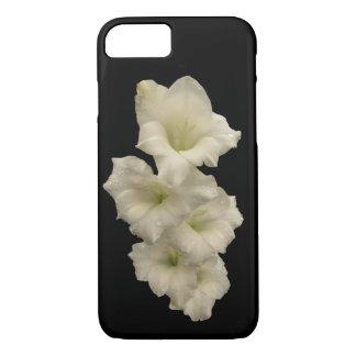 白黒GladiolaによってはiPhone 7の箱が開花します iPhone 8/7ケース