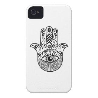白黒Hamsa手 Case-Mate iPhone 4 ケース