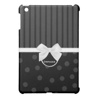 白黒iPadの箱 iPad Mini Case
