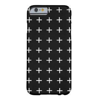 白黒iPhone 6つのケース- Scandiの上品 Barely There iPhone 6 ケース