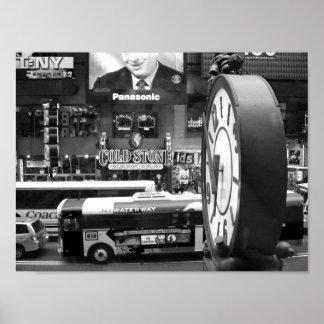 白黒NYCの写真 ポスター