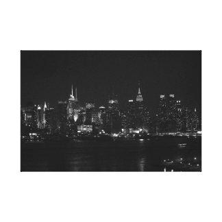 白黒NYC キャンバスプリント