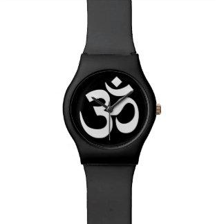 白黒Omの記号 腕時計