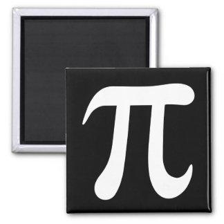 白黒piの記号の磁石 マグネット