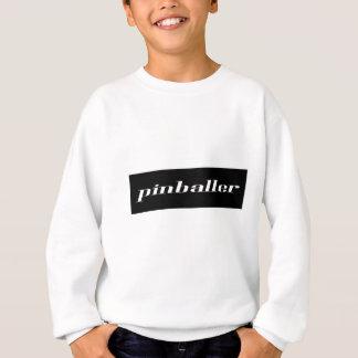 白黒Pinballer スウェットシャツ