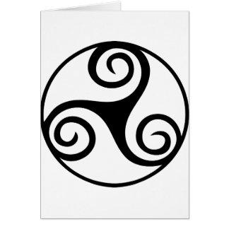 白黒Triskelion カード