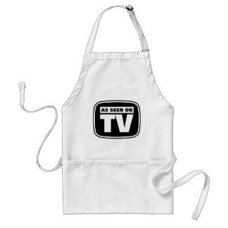 -白黒TVで見られて スタンダードエプロン