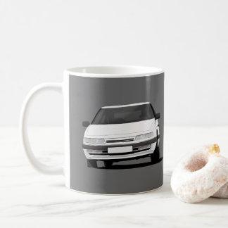 白2つのイメージのCitroën XM每の コーヒーマグカップ