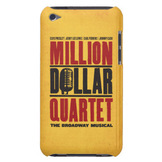 百万のドルの四つ組のロゴ Case-Mate iPod TOUCH ケース