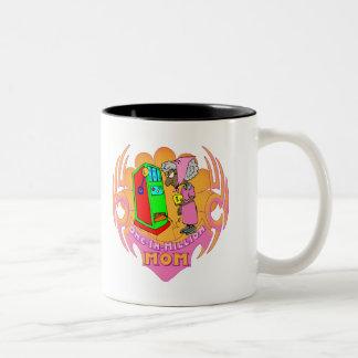 百万個のスロットマシンの母の日のギフトに付き1個 ツートーンマグカップ