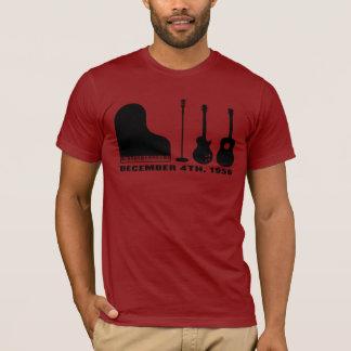 百万匹のドルの四つ組の楽器-黒 Tシャツ