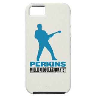 百万匹のドルの四つ組パーキンズ iPhone SE/5/5s ケース