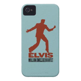 百万匹のドルの四つ組Elvis Case-Mate iPhone 4 ケース