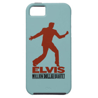 百万匹のドルの四つ組Elvis iPhone SE/5/5s ケース