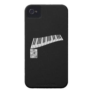 百万台のドルの四つ組のピアノ-白 Case-Mate iPhone 4 ケース